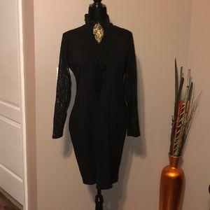 Pretty lil Thang-Black Dress
